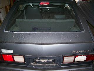 Chevette Rear