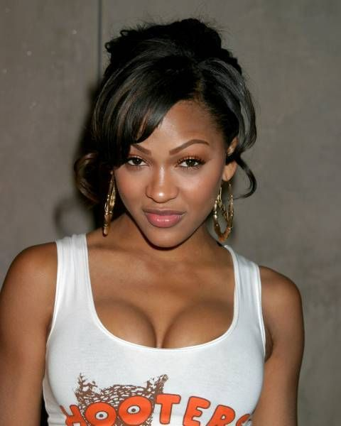 meagan good new haircut. Megan Good; hooters wallpaper