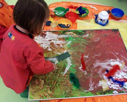 Célèbre Atelier de peinture avec les enfants - Ptit blog d'une  UK01