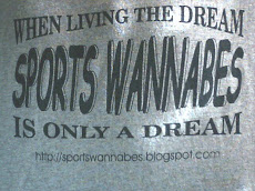 Official Sports Wannabes T-Shirts!