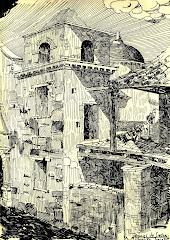 A. Michaelen - Ruinas de Siecha - 1955