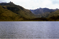Laguna sagrada de Chingaza