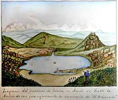 Acuarela Album Liborio Zerda 1892 - Colección Museo Nacional de Colombia
