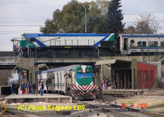 MF 701 PARTIENDO DE EST. ING. DR MANUEL CASTELLO, A 611 ARRIBANDO A PARADA AGUSTIN D´ELIA