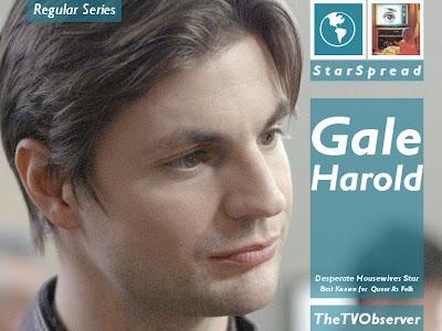 THETVOBSERVER!: TheTVObserver: Gale Harold