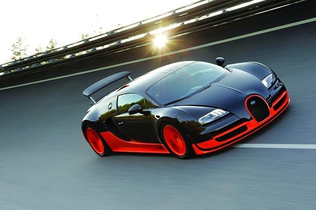 2011 Bugatti Veyron Super Sport - Front Side Top View