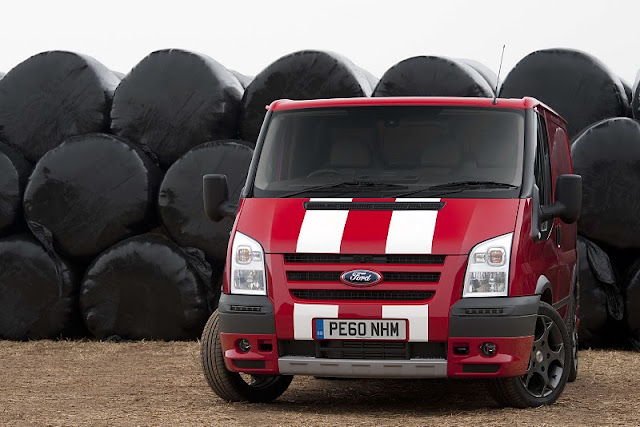 2010 Ford Transit SportVan Red will be produced in a limited number of 100