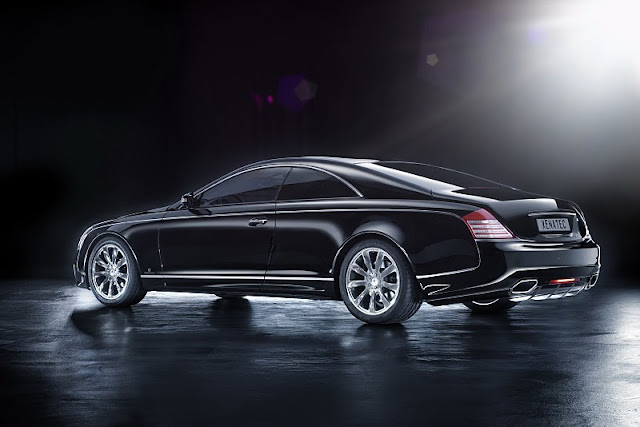 2011 xenatec maybach 57s coupe rear side view 2011 Xenatec Maybach 57S Coupe