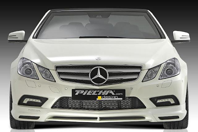 2011 piecha mercedes benz e class convertible w207 front view 2011 Piecha Mercedes Benz E Class Convertible W207
