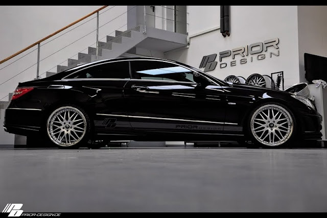 2011 Prior Mercedes Benz E Class Coupe Black Desire