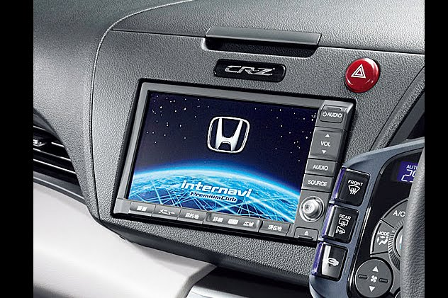 2011 honda cr z hybrid memorial award edition navigation system view 2011 Honda CR Z Hybrid Memorial Award Edition