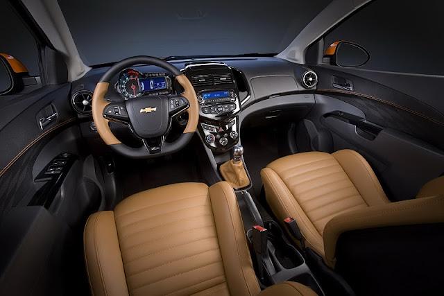2011 chevrolet sonic z spec concept interior view 2011 Chevrolet Sonic Z Spec