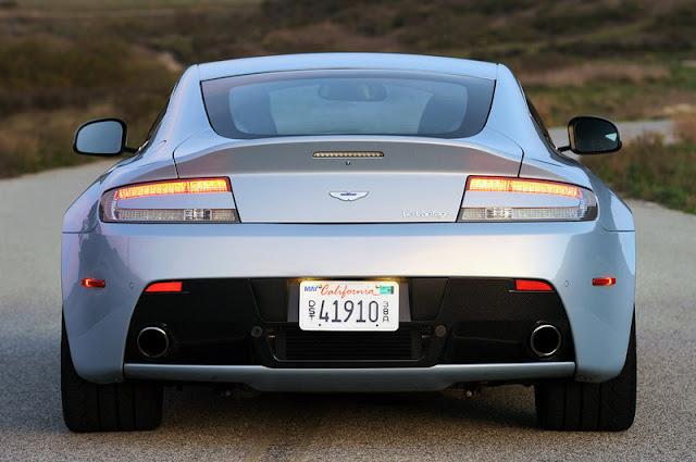 2011 aston martin v12 vantage rear view 2011 Aston Martin V12 Vantage