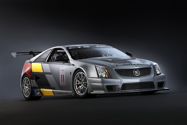2011 cadillac cts v coupe race car front side view 2011 Cadillac CTS V Coupe Race Car