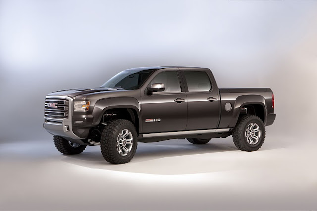 2011 gmc sierra all terrain hd concept front side view 2011 GMC Sierra All Terrain HD