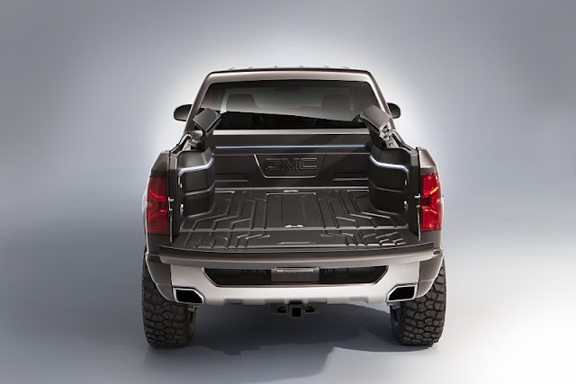 2011 gmc sierra all terrain hd concept rear view 2011 GMC Sierra All Terrain HD