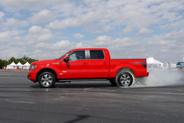 2011 ford f 150 ecoboost side view 2011 Ford F 150 EcoBoost