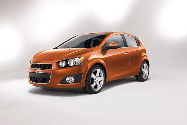 2012 chevrolet sonic hatchback front angle view 2012 Chevrolet Sonic Hatchback