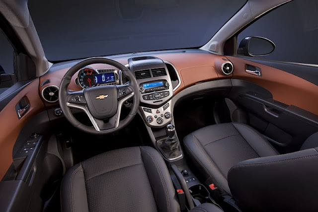 2012 chevrolet sonic sedan interior view 2012 Chevrolet Sonic Sedan