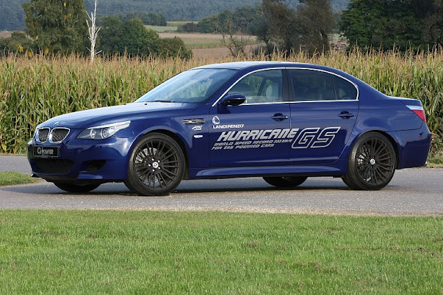 2011 g power bmw m5 hurricane gs front side view 2011 G Power BMW M5 Hurricane GS