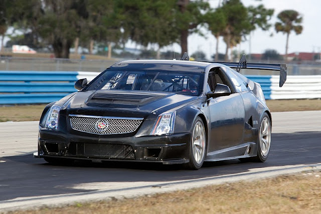2011 cadillac cts v coupe racer scca front angle view 2011 Cadillac CTS V Coupe Racer SCCA