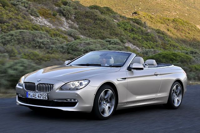 2012 bmw 6 series convertible front side view 2012 BMW 6 Series Convertible