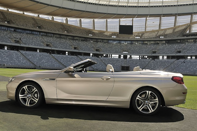 2012 bmw 6 series convertible side view 2012 BMW 6 Series Convertible