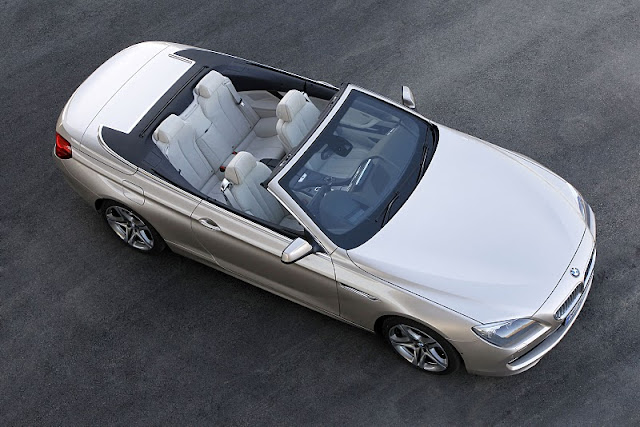 2012 bmw 6 series convertible top view 2012 BMW 6 Series Convertible
