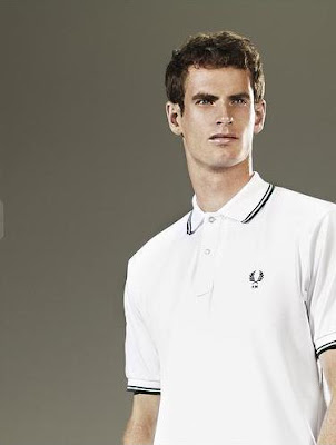 andy murray wimbledon 2009. Andy Murray in Fred Perry