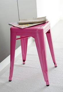 Anna 39 s garderobe rosa gl dje - Garderobe tolix ...