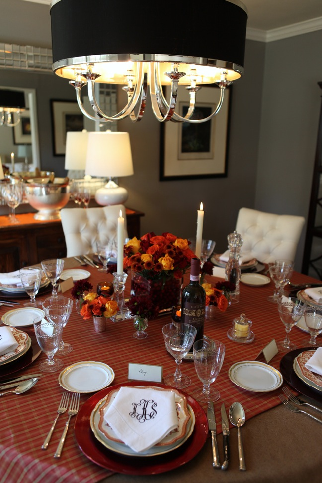 Knight moves thanksgiving tablescape