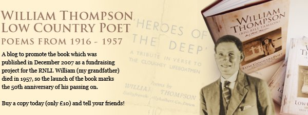 William Thompson : Low Country Poet : Poems from 1916 - 1957