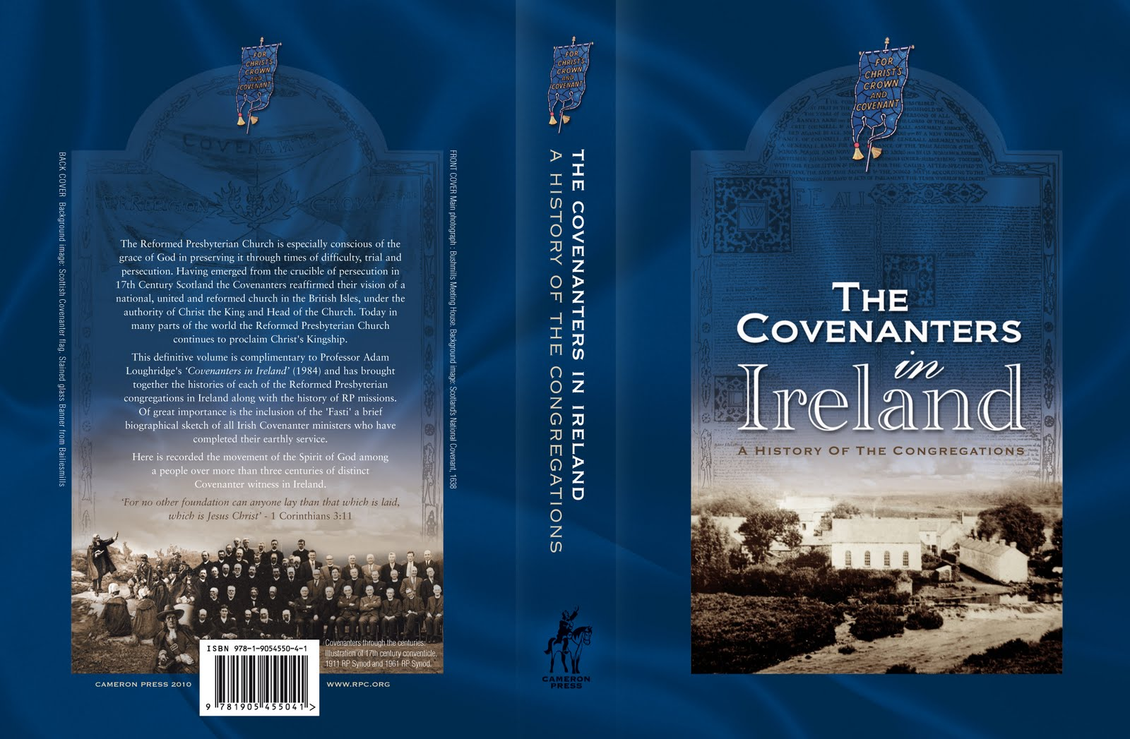 Book Cover Illustration History : Book cover design quot the covenanters in ireland a history