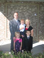 Porter's Baptism Day