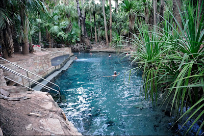 Touring australia mataranka and katherine for Natural swimming pool australia