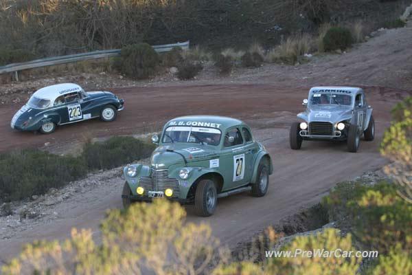 Gran Premio Argentino Histórico de Automovilismo. Imágen: deportelauquen.blogspot.com