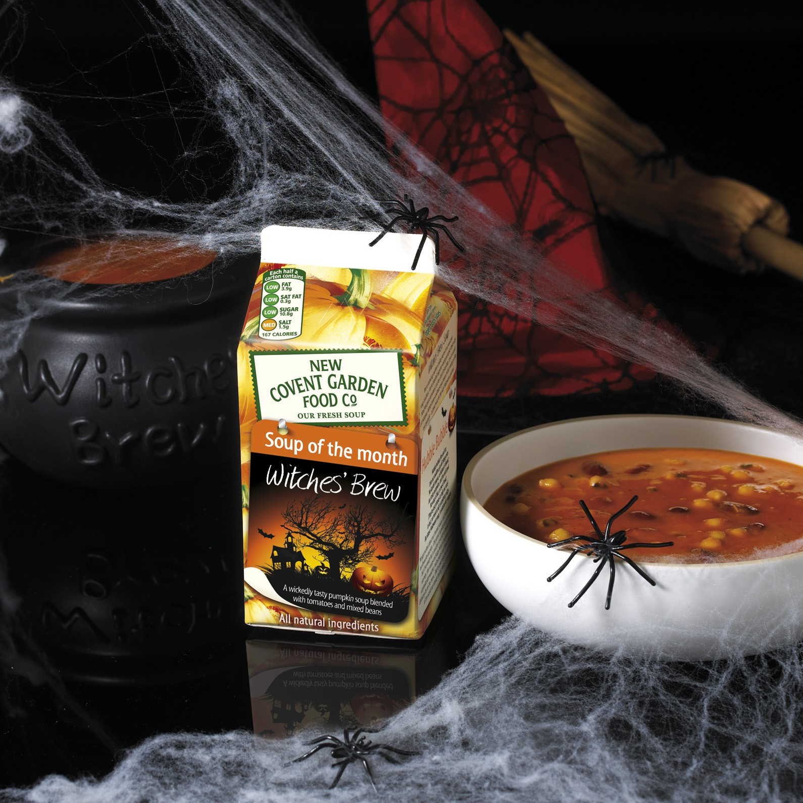 Witches' Brew - October's New Covent Garden Soup of the Month !