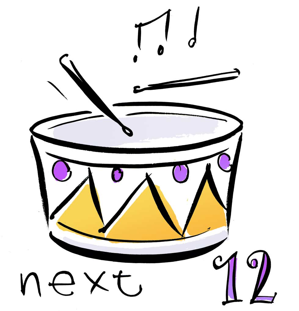 Displaying Images For - Twelve Drummers Drumming...