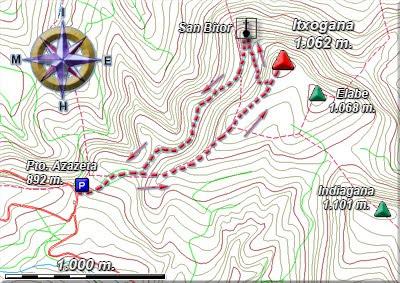Ampliar plano de la ruta