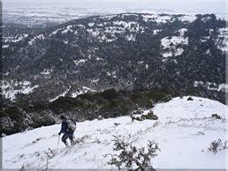 Descenso desde la punta sur de Arrato