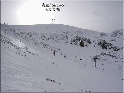 San Lorenzo durante el descenso