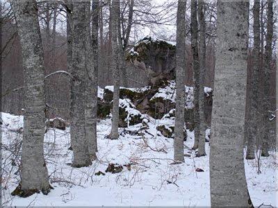 Curiosas formaciones rocosas