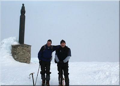 San Lorenzo mendiaren gailurra 2.261 m. - 2009ko urtarrilaren 3an