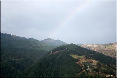Arco Iris sobre el Pico Mayor