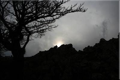 ... mirada al cielo de Mugarra