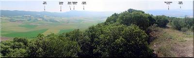 Panorámica desde la cima Junio'05