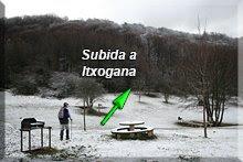 Subida a Itxogana