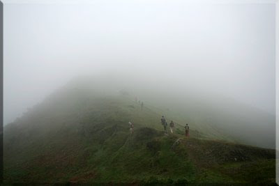 La niebla cubre Goikogane