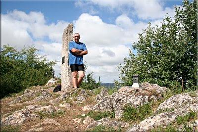 Arrigorrista mendiaren gailurra 1.143 m. - 2009ko uztailaren 18an