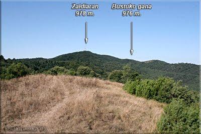 Zaldiaran y Bustuko gana desde San Kiliz